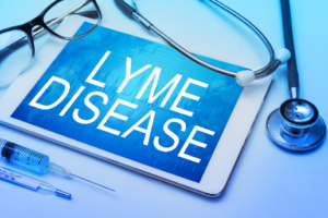Lyme Disease on tablet